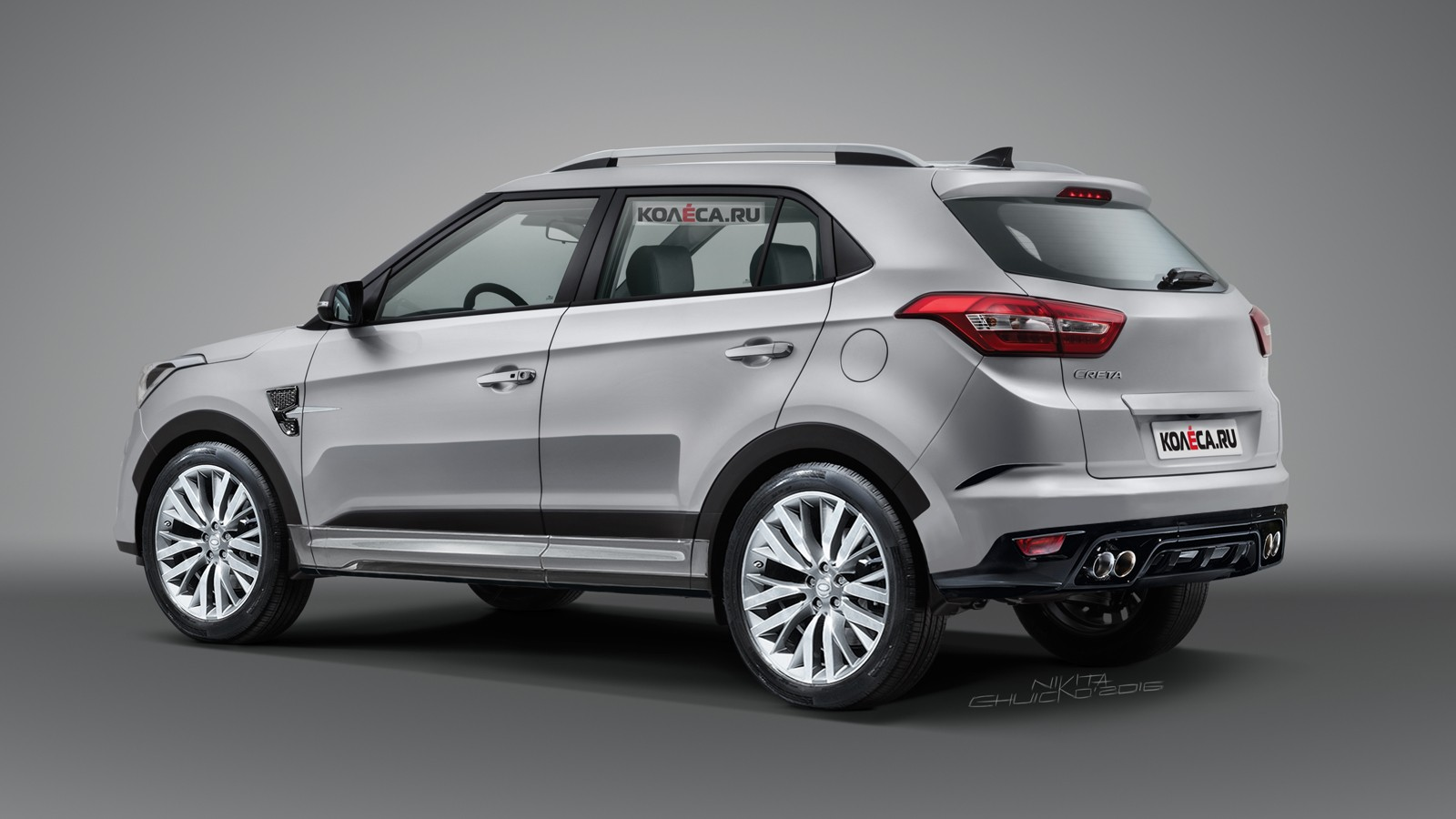 Hyundai Creta rear