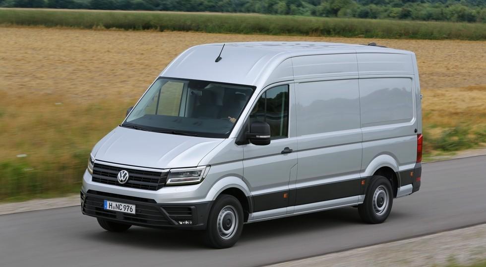На фото: Volkswagen Crafter нового поколения