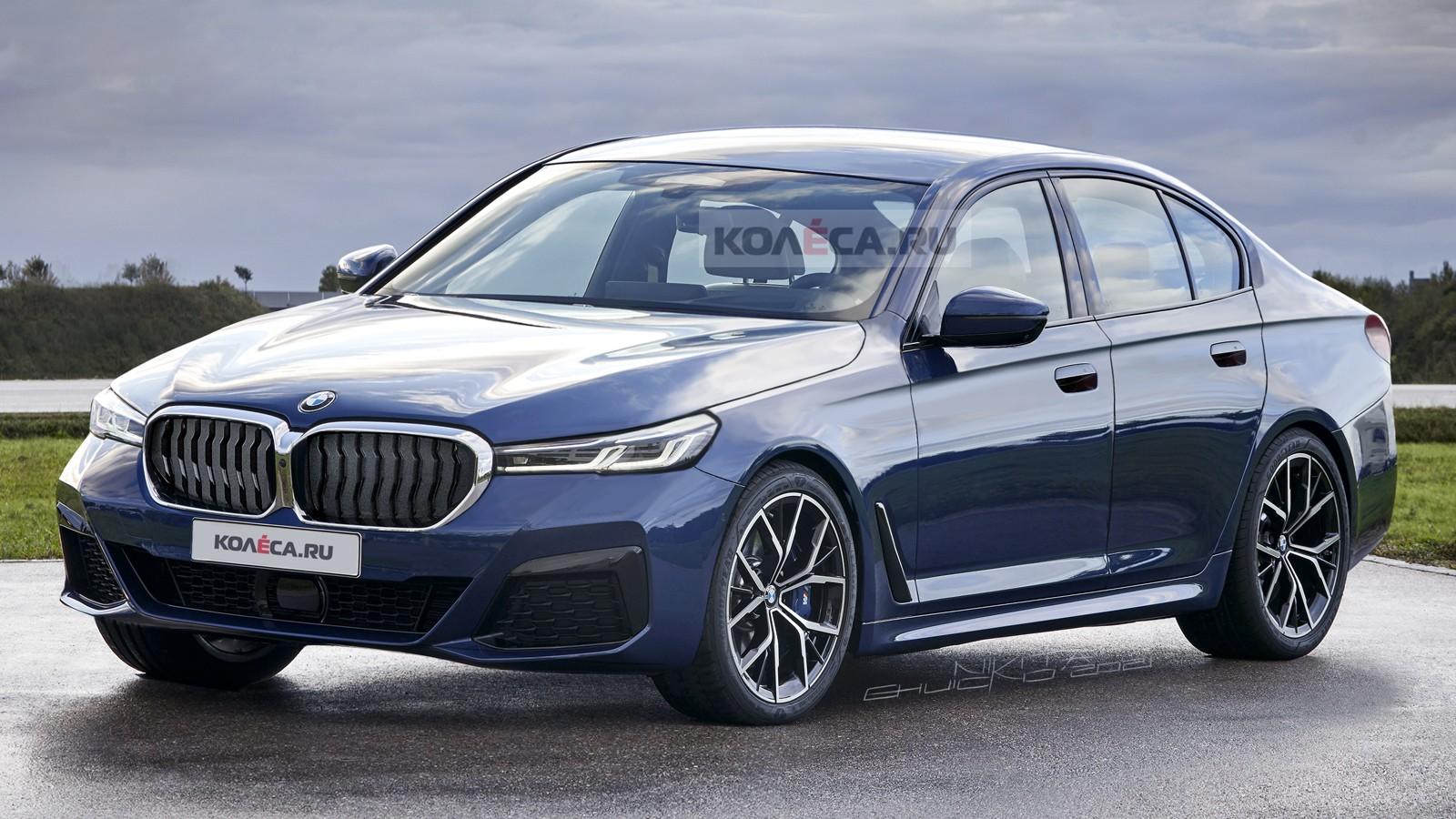 Новый BMW 5 серии: первые изображения