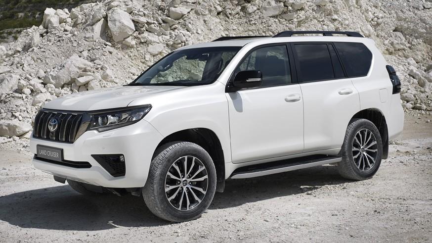 Toyota предлагает в РФ Land Cruiser Prado в юбилейной спецверсии