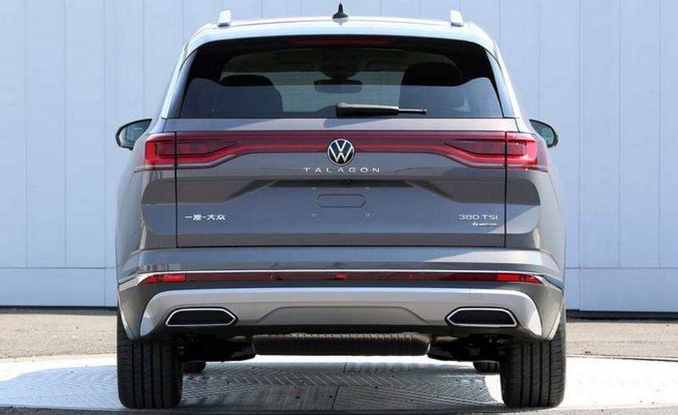 Новый кроссовер Volkswagen: это Talagon, и он больше родственного Терамонта