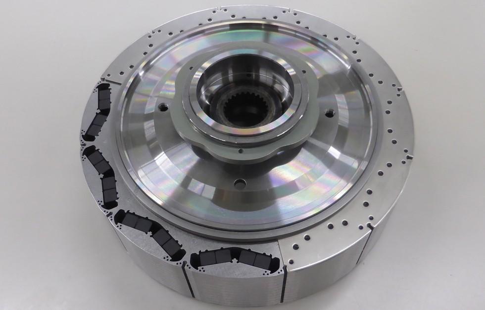 На фото: ротор для установки i-DCD