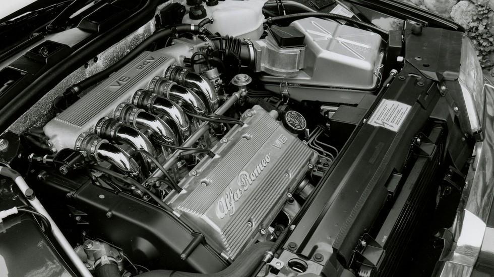 Alfa Romeo 164 двигатель