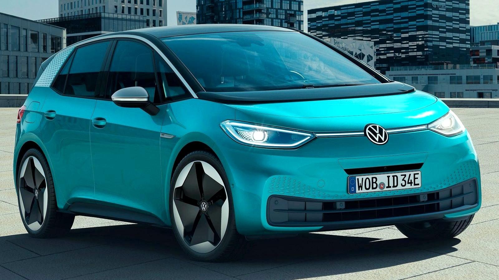 300 «лошадей» и задний привод: Volkswagen готовит хот-хэтч на базе ID.3