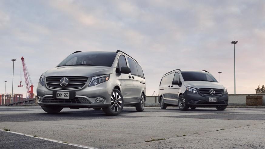 Mercedes обновил американский V-Class: подретушированная внешность и новая коробка передач