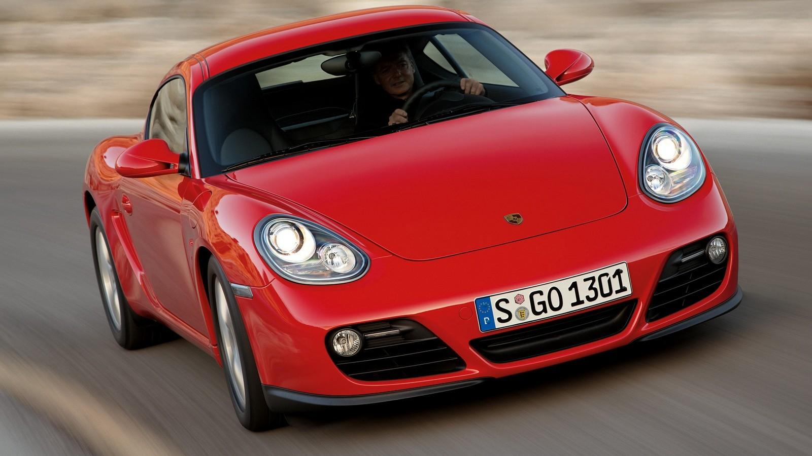 На фото: Porsche Cayman '2009–12