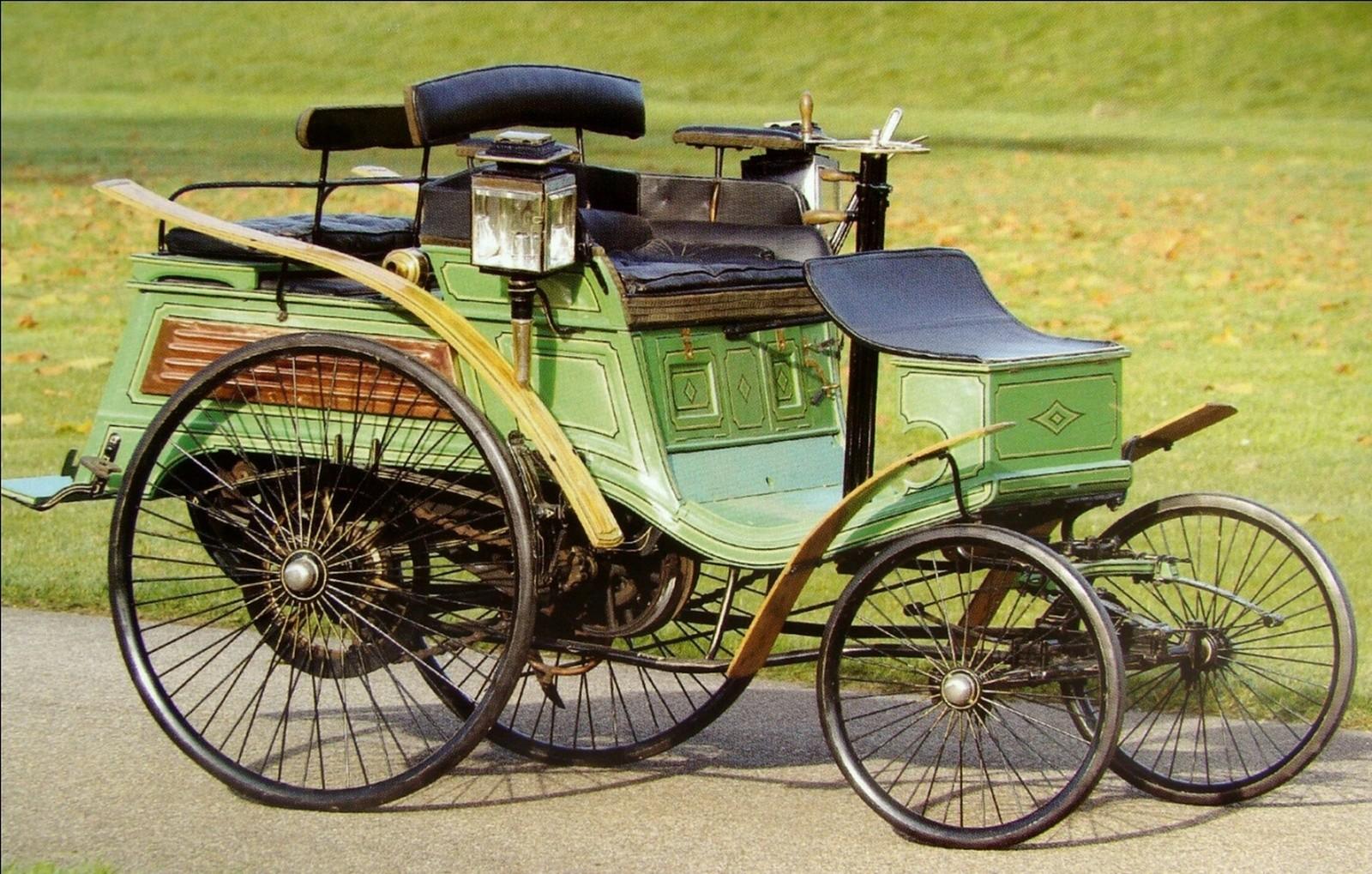 Немецкий четырехместный автомобиль Benz Velo Comfortable. 1897 год