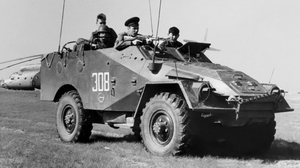 На фото: ГАЗ 40 (БТР 40) '1950–60