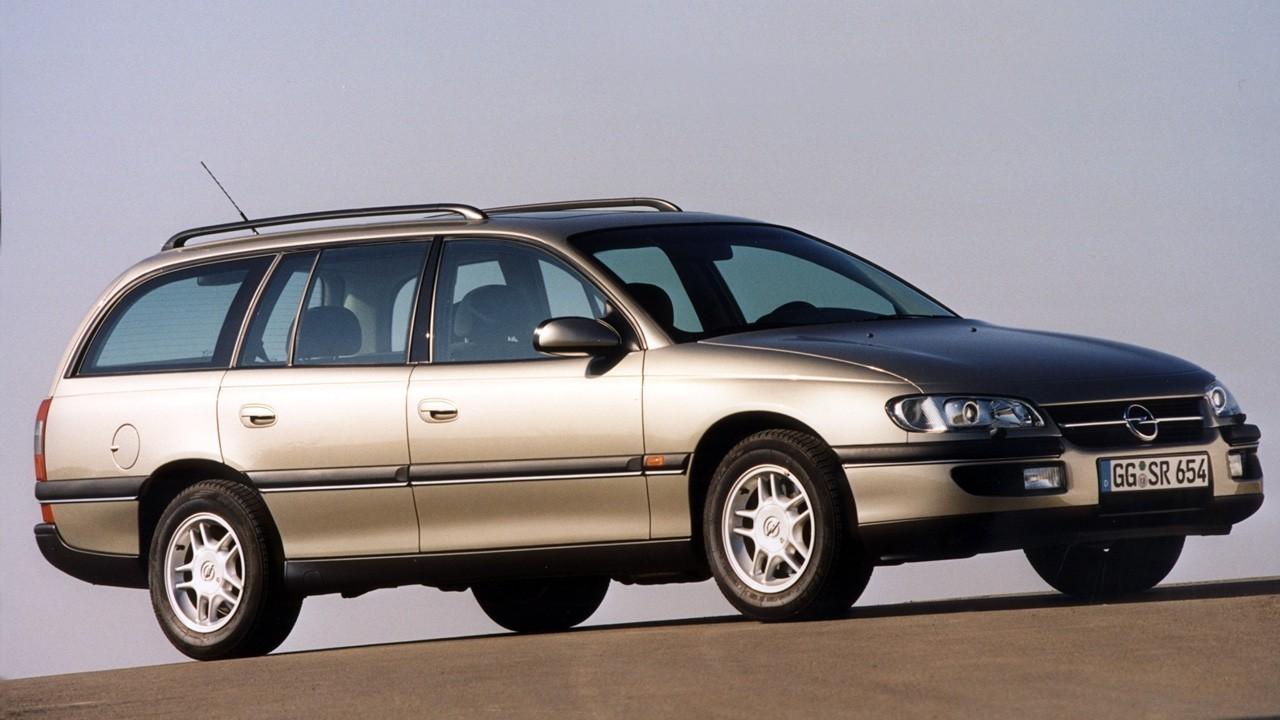 На фото: Opel Omega Caravan (B) '1994–99