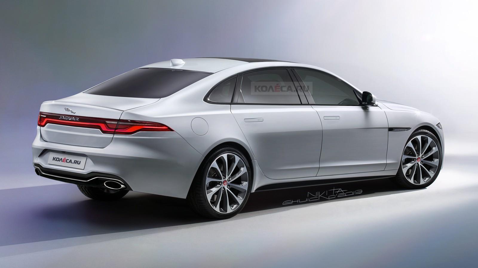 Новый Jaguar XJ 2020 - КОЛЕСА.ру - автомобильный журнал