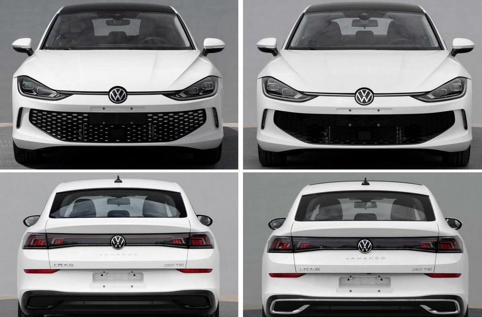 Раскрыт салон нового Volkswagen Lamando: лифтбек получил огромное табло