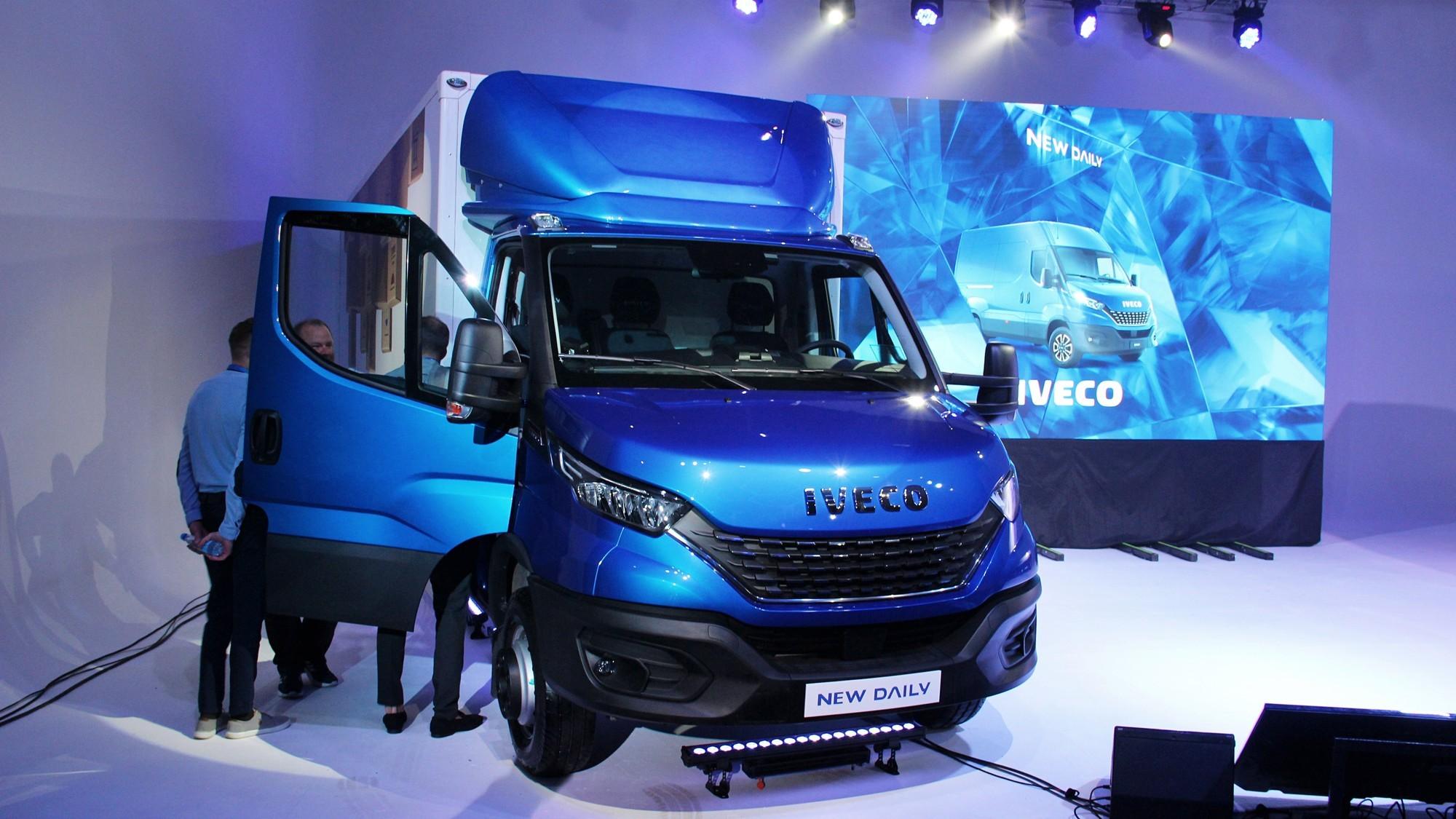Обновлённый Iveco Daily добрался до РФ: дизайн 2019 года и электронные ассистенты