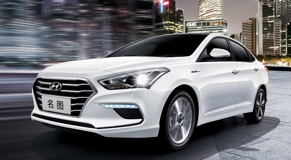 Hyundai готовит к премьере седан с головной оптикой в стиле новой Креты