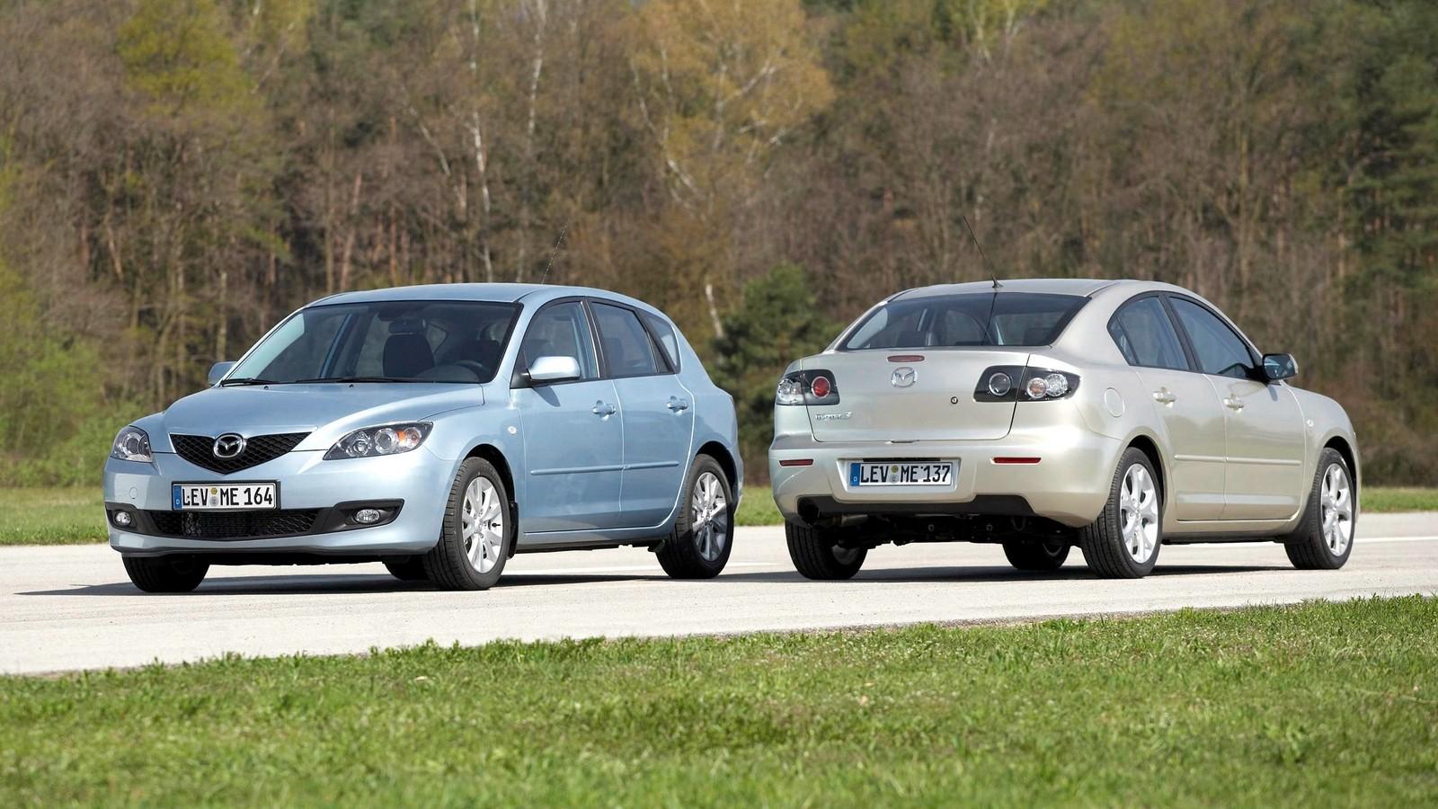 На фото: Mazda3 (BK) '2003–09