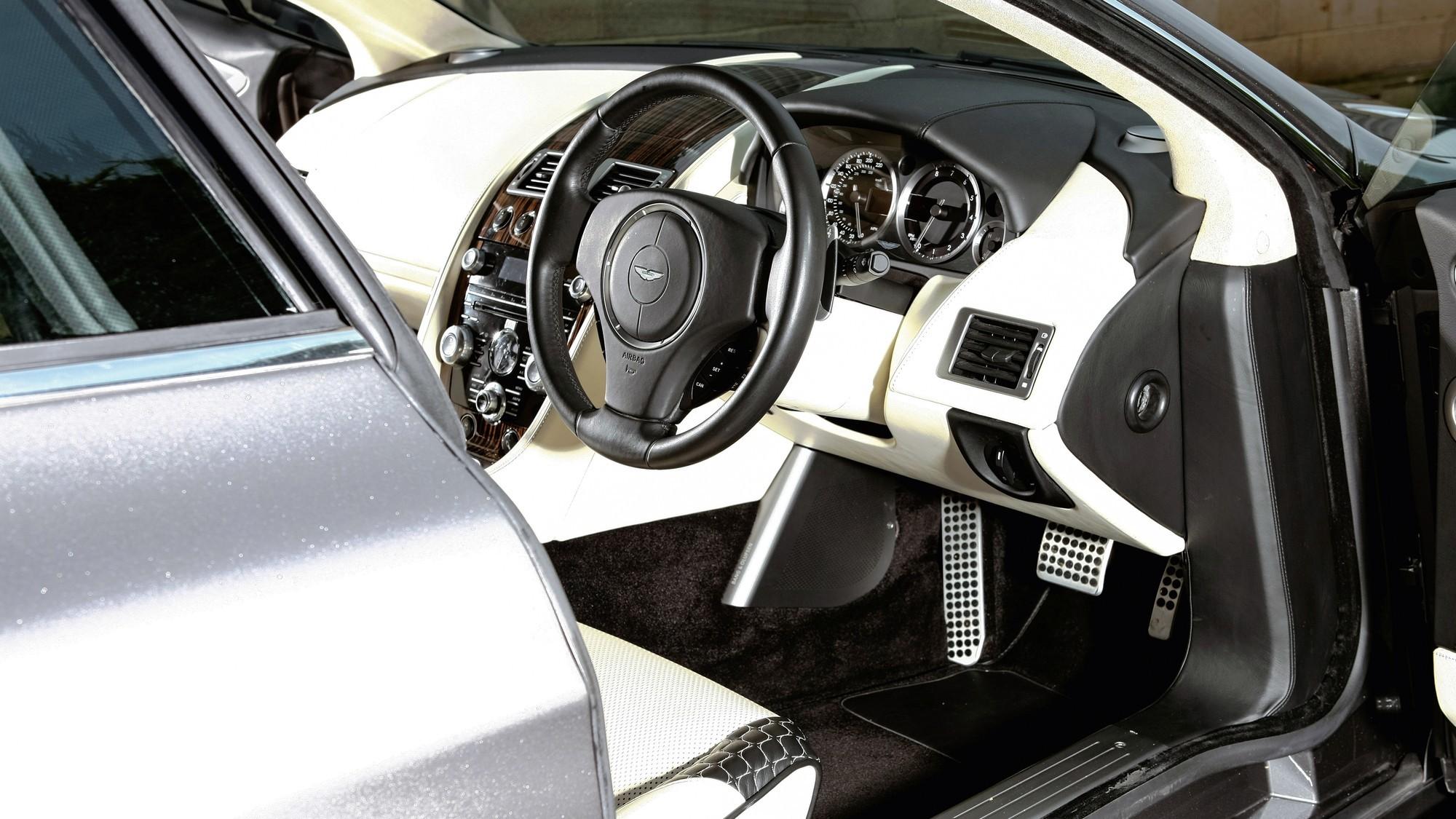 Единственный шутинг-брейк на базе Aston Martin Rapide выставлен на продажу