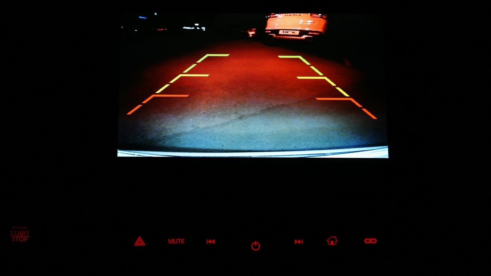 Lifan X70 камера заднего вида
