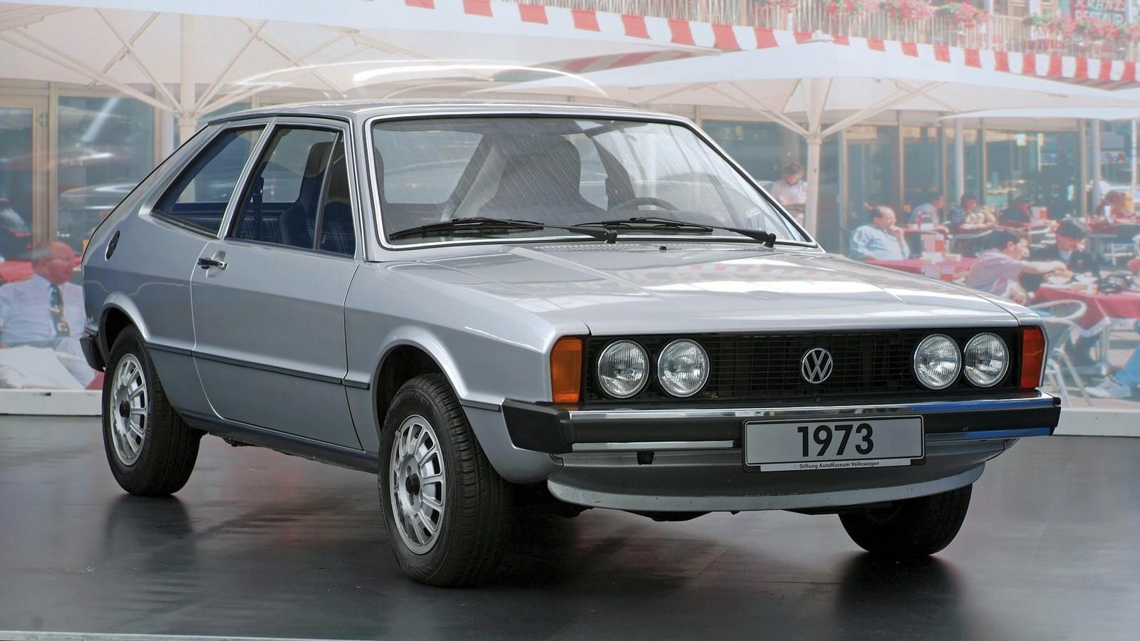 На фото: Volkswagen Scirocco I
