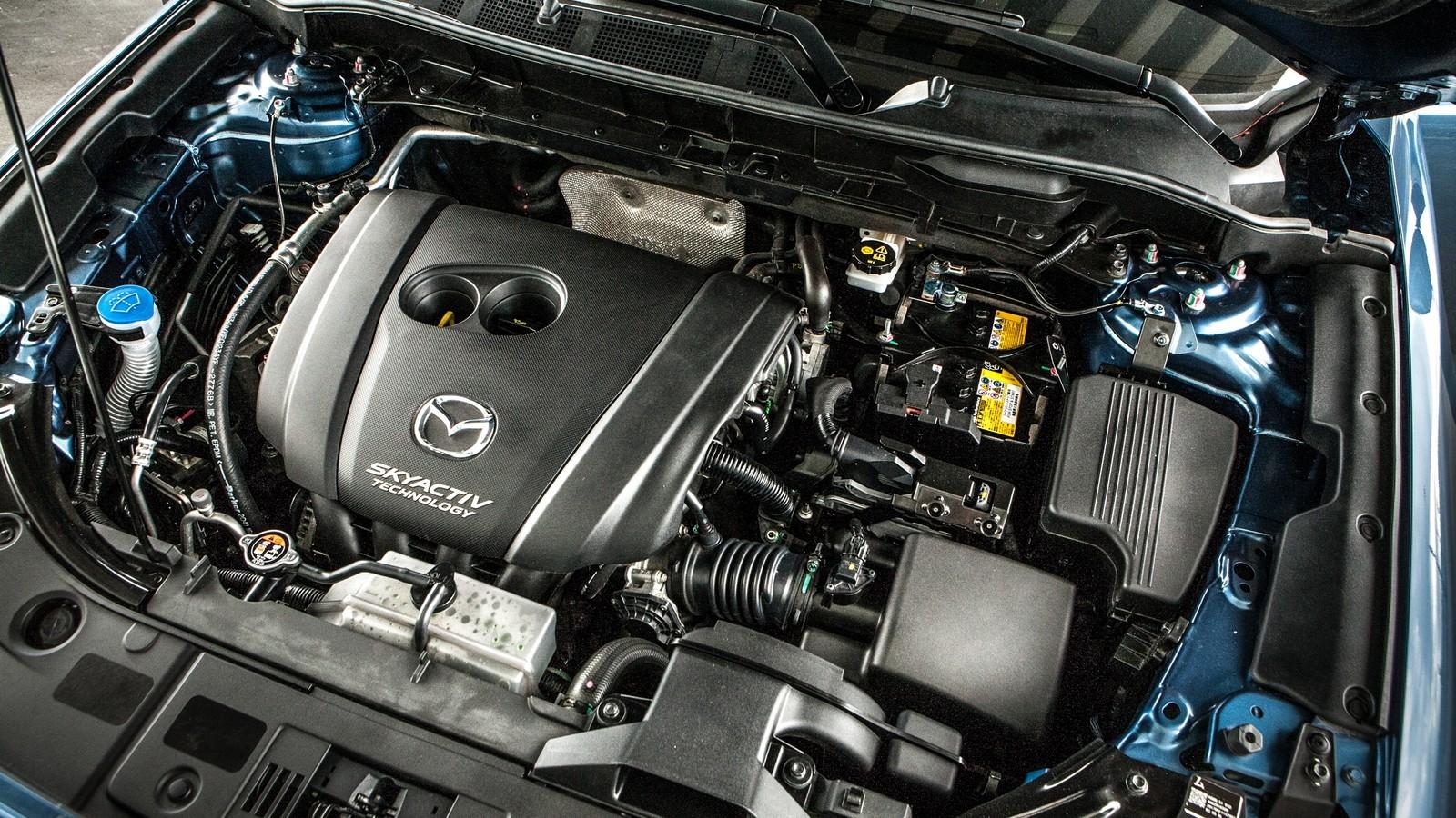 Mazda CX-5 двигатель