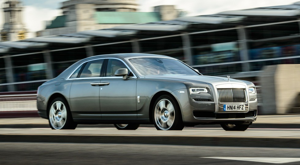 На фото: Rolls-Royce Ghost