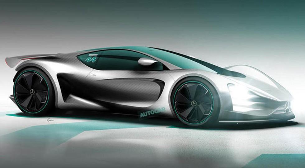 Рендер Mercedes-AMG Project One от Autocar
