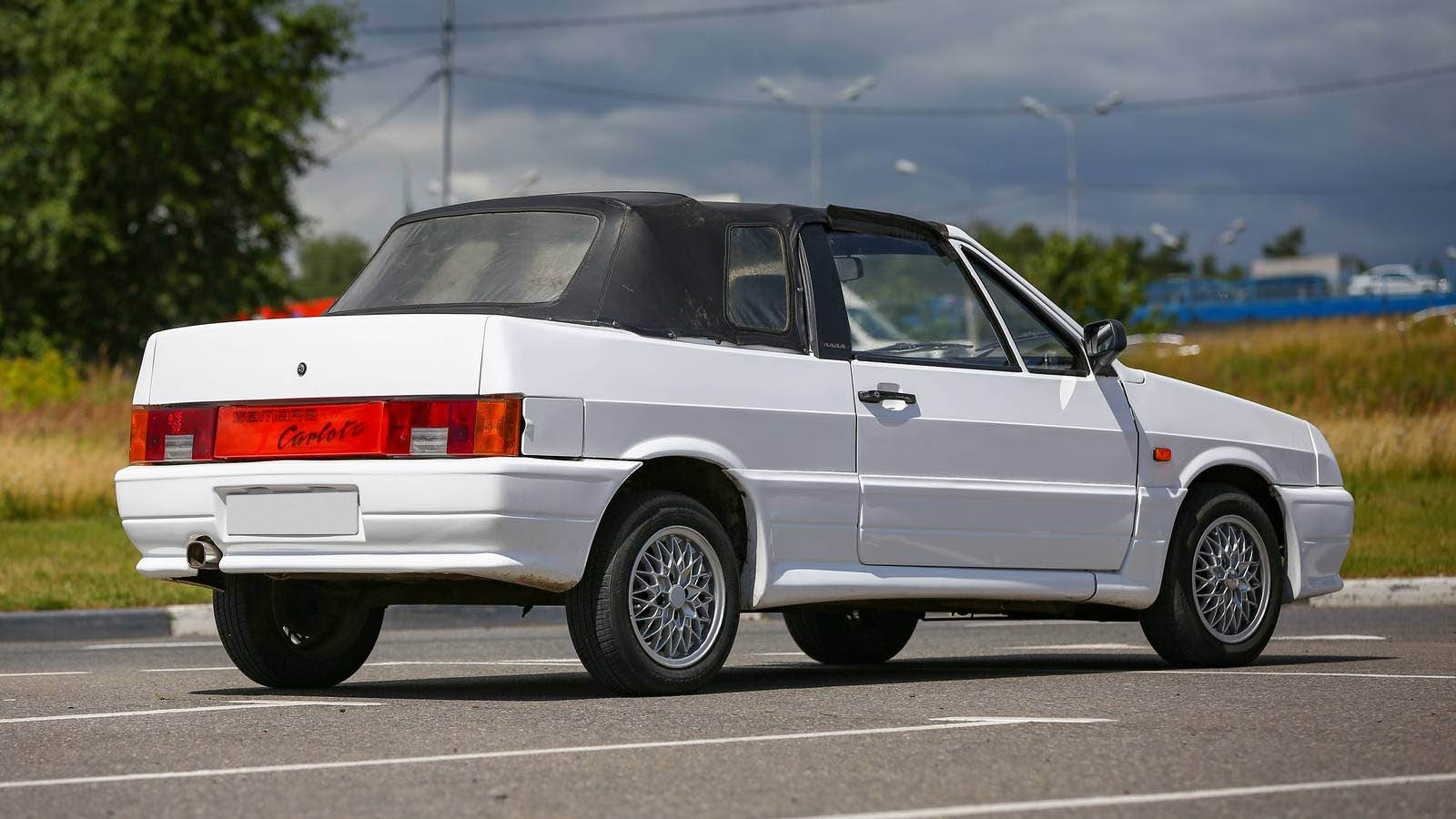 Наташа «топлесс»: опыт владения ВАЗ-2108 кабриолет 1993 года