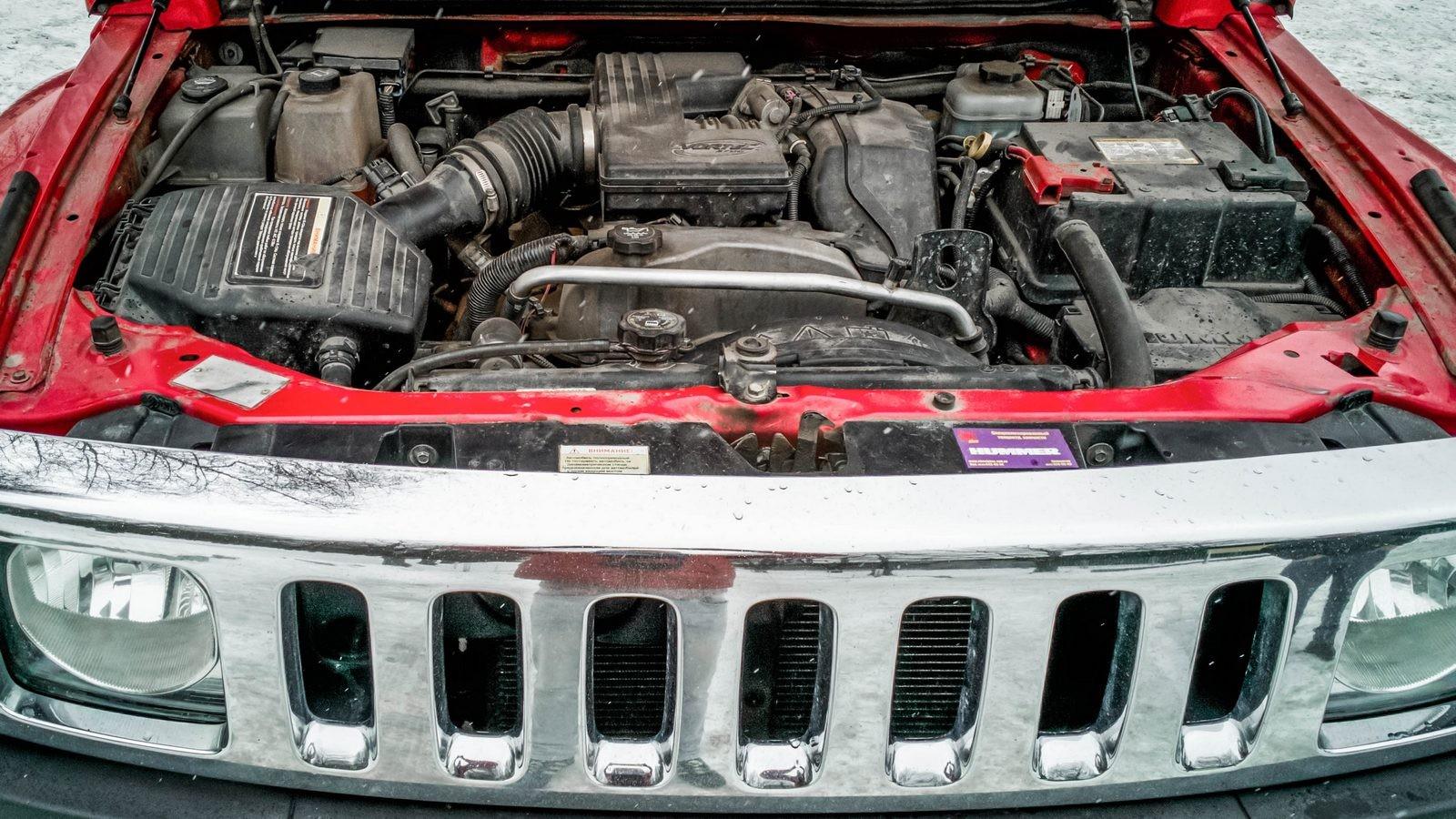 Hummer H3 двигатель