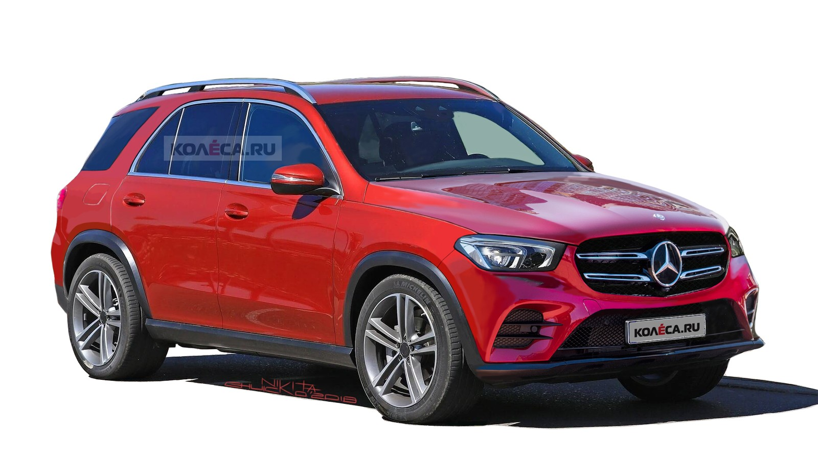 Mercedes-Benz GLE front2