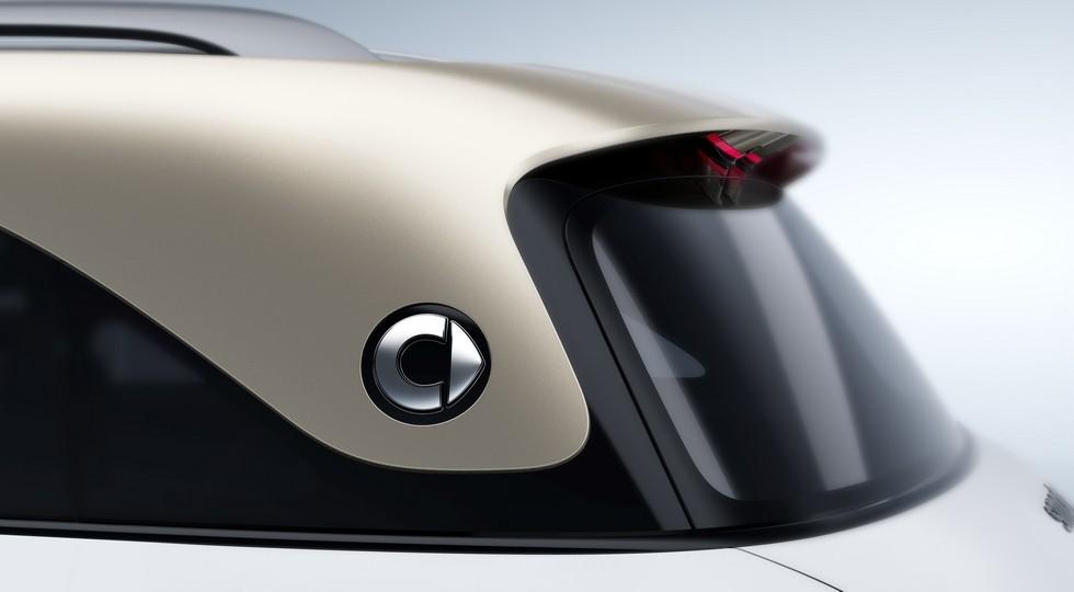 Кроссовер smart, который породнится с будущими Volvo через платформу Geely: новое фото