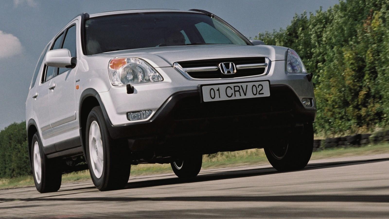На фото: Honda CR-V