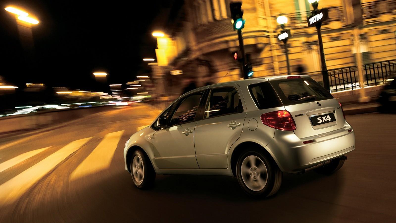 Suzuki SX4 Worldwide '2006–10 в движении