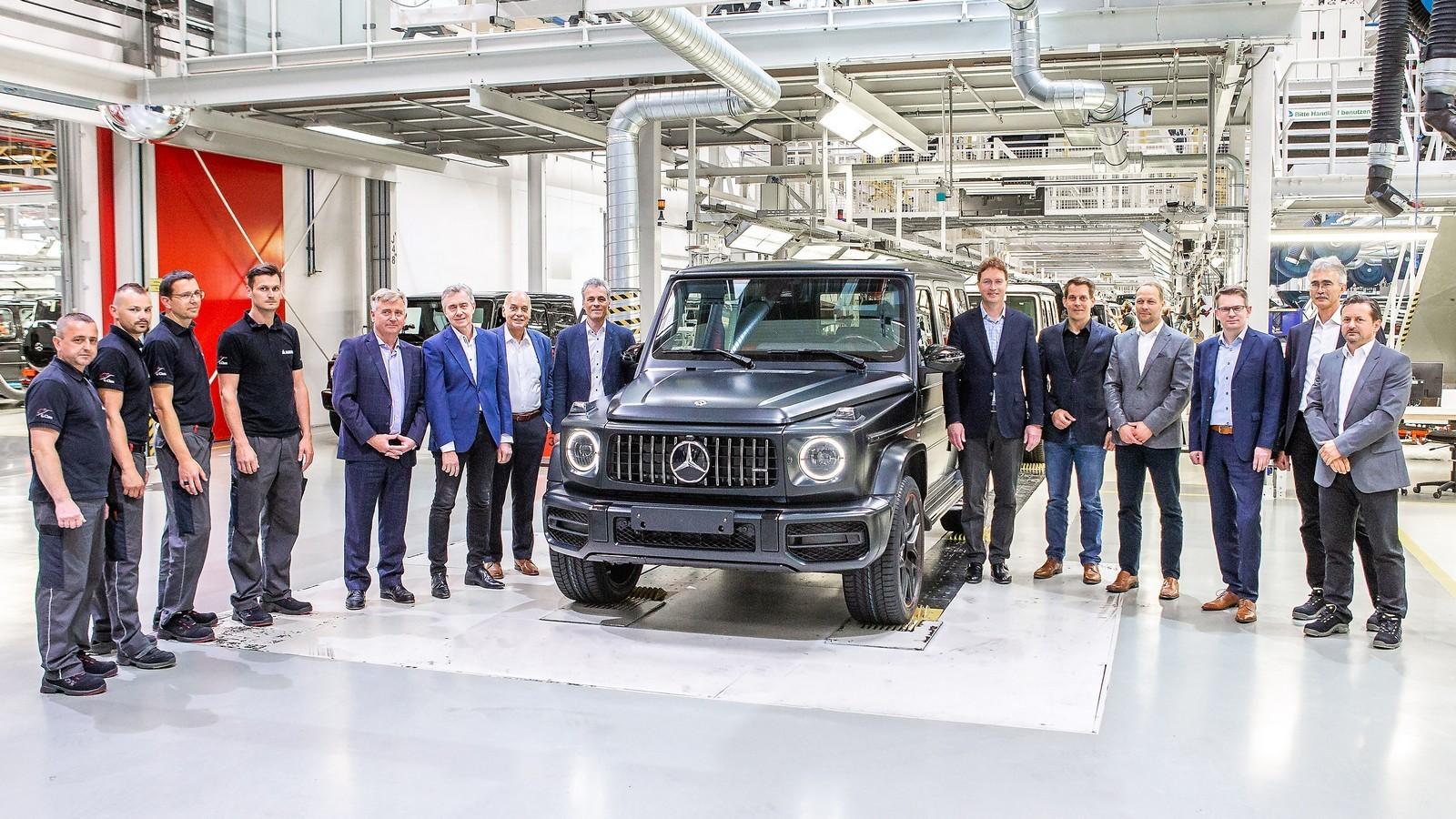 Produktionsstart der neuen Mercedes-Benz G-Klasse in Graz