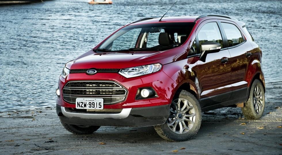 На фото: дорестайлинговый Ford EcoSport