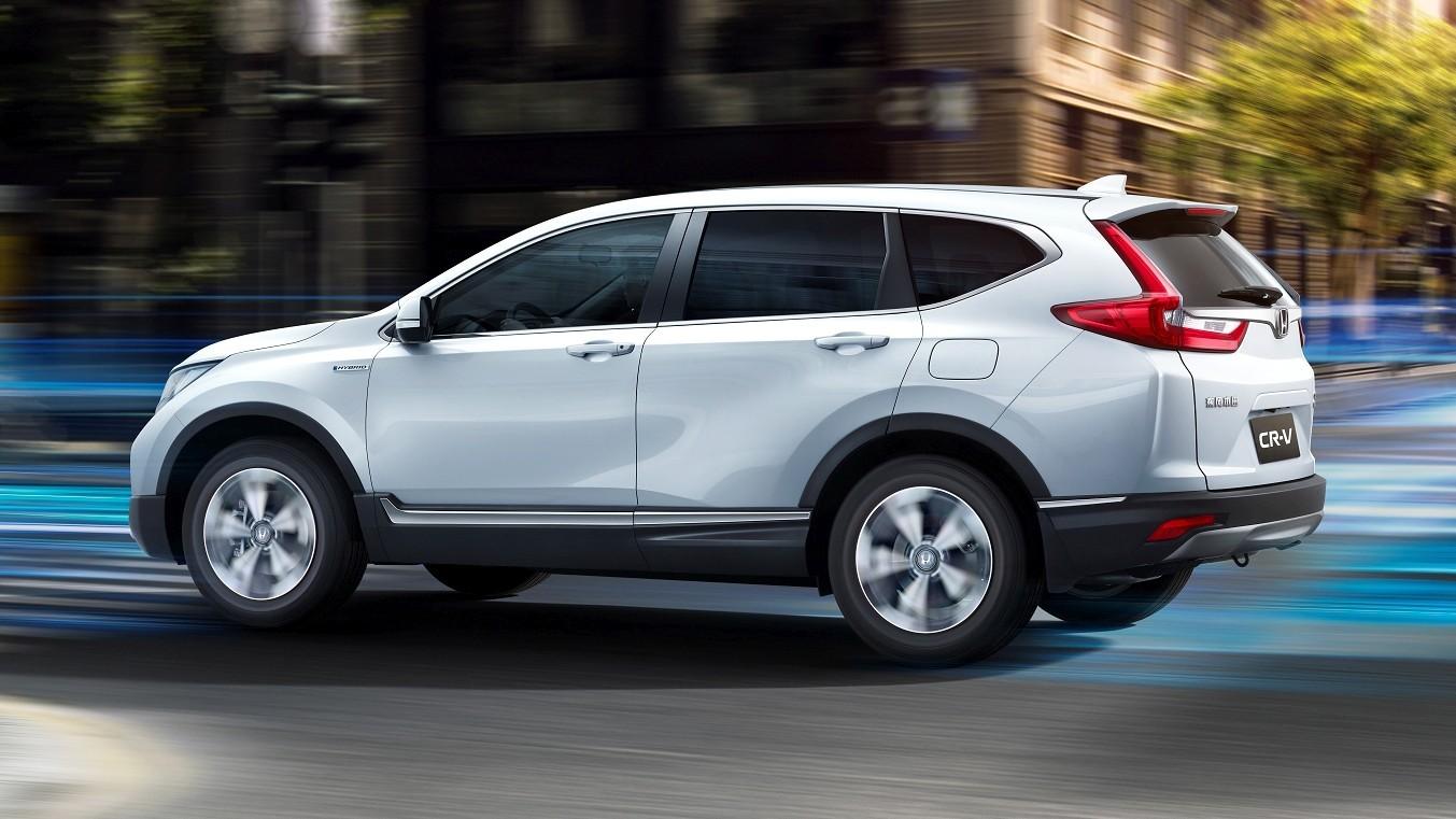 Honda CR-V Hybrid 2018-го модельного года