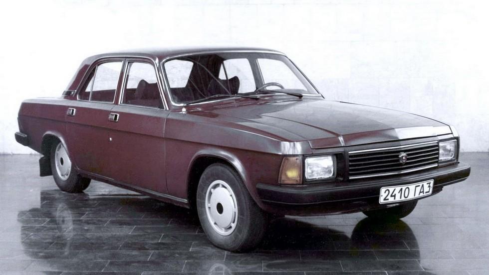 Прототип «упрощенной» модели 31-02. Таким должен был быть ГАЗ-24-10