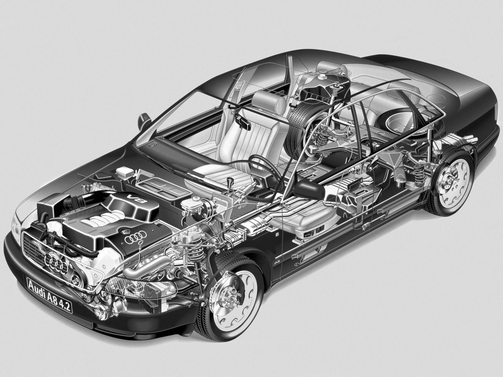 На фото: Audi A8 (D2) '1994–99