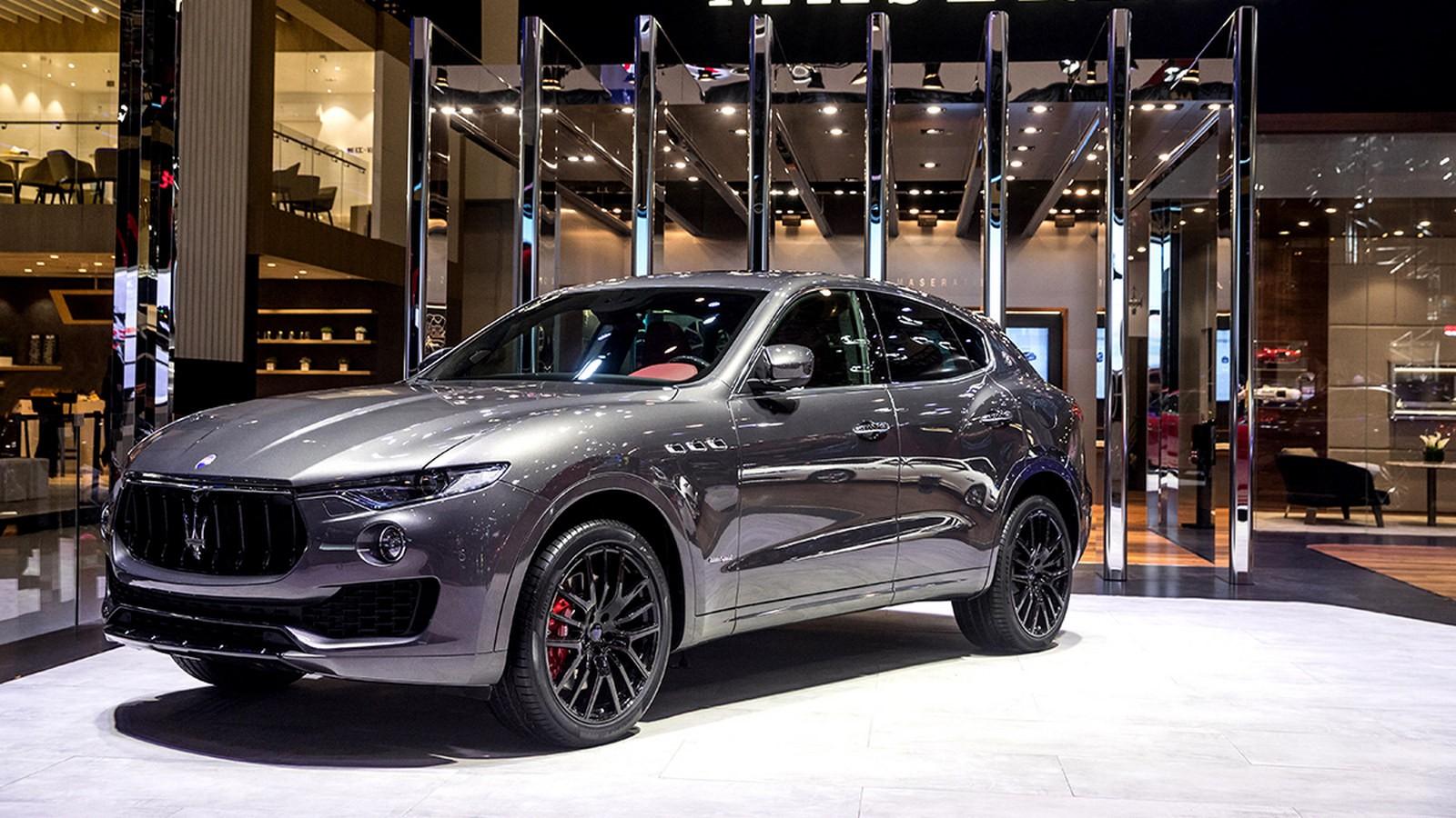 Maserati stand at Auto China 2018_Levante S GranSport MY18
