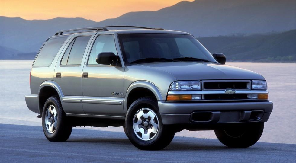 На фото: Chevrolet Blazer, выпускавшийся в 2000-2005 гг. Первое поколение модели было представлено в 1969 г.