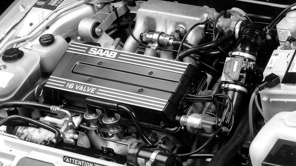 SAAB 9000 двигатель