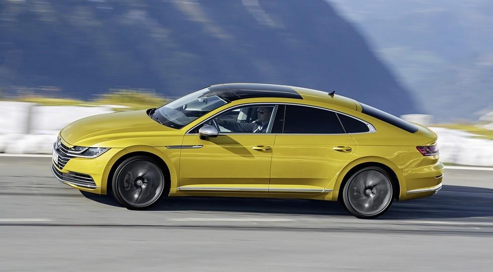Volkswagen привезёт в Россию лифтбек Arteon: только бензин, зато с полным приводом