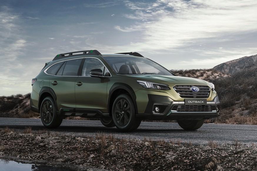 Новый Subaru Outback добрался до России: один мотор, огромный планшет, дороже Volvo V60 CC