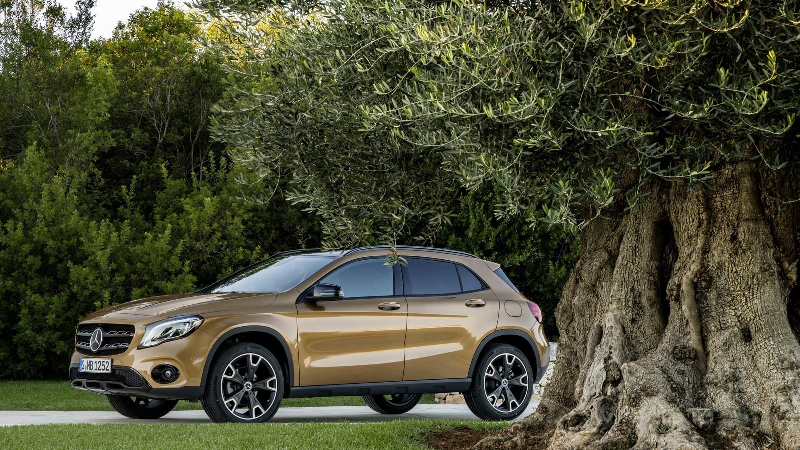 Mercedes-Benz GLA текущего поколения