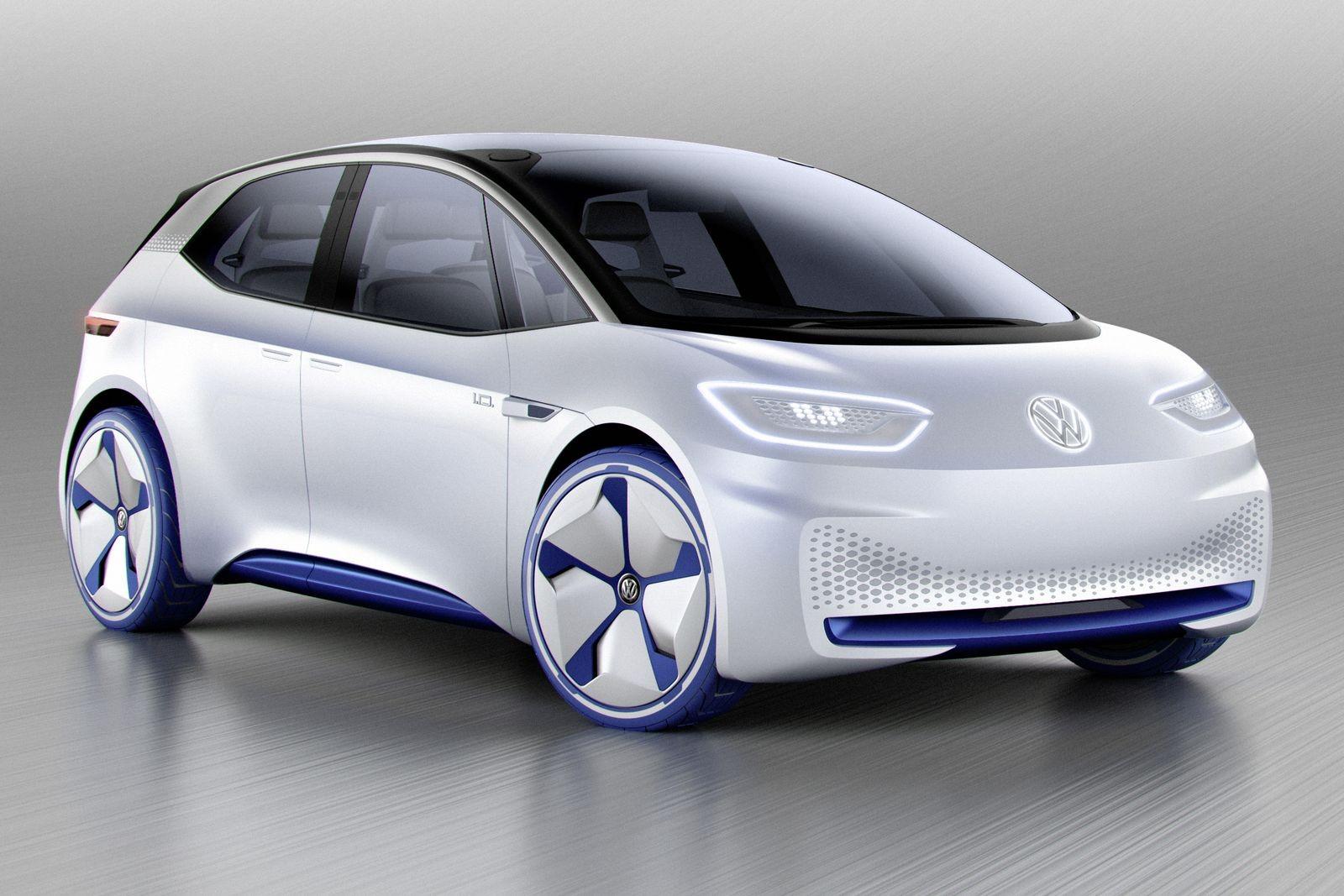 Концепт-кар Volkswagen I.D. 2016 года