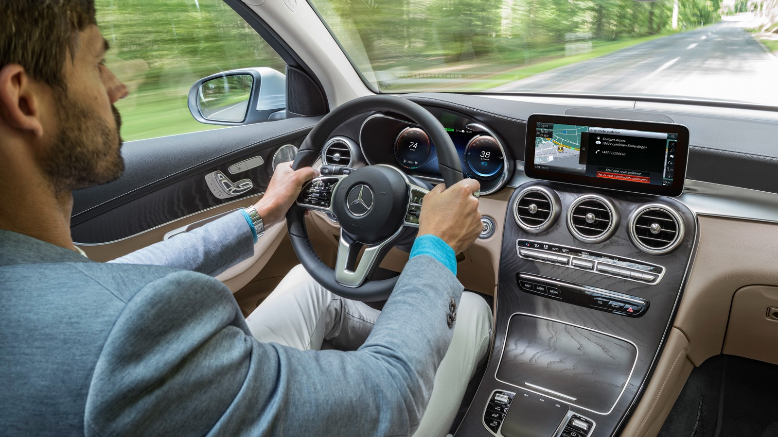 Mercedes-Benz GLC F-CELL; X253; 2017