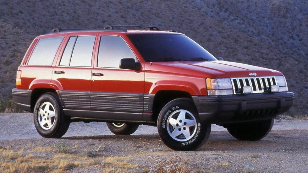 На фото: Jeep Grand Cherokee Laredo (ZJ) 1993–96