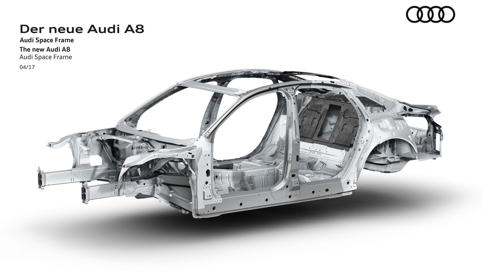 Der neue Audi A8