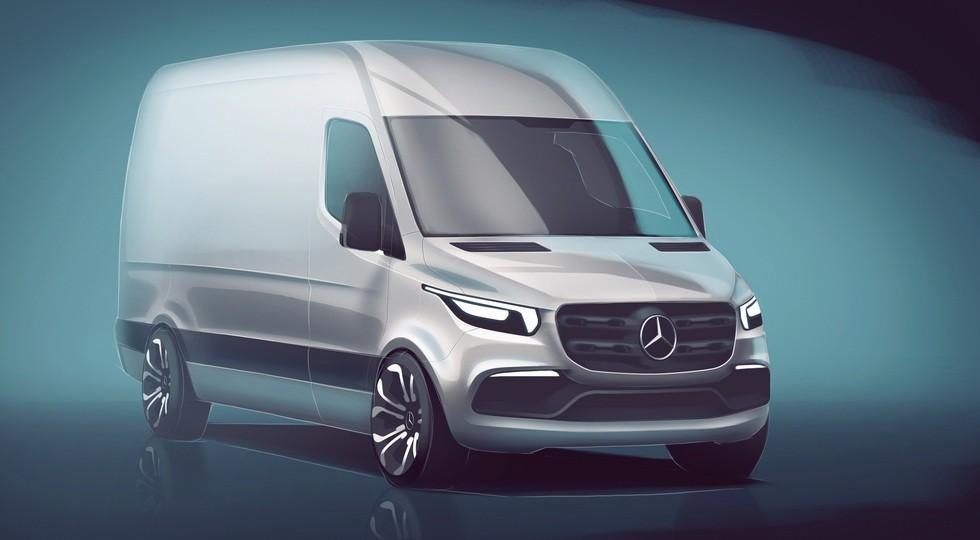 Mercedes-Benz Sprinter нового поколения