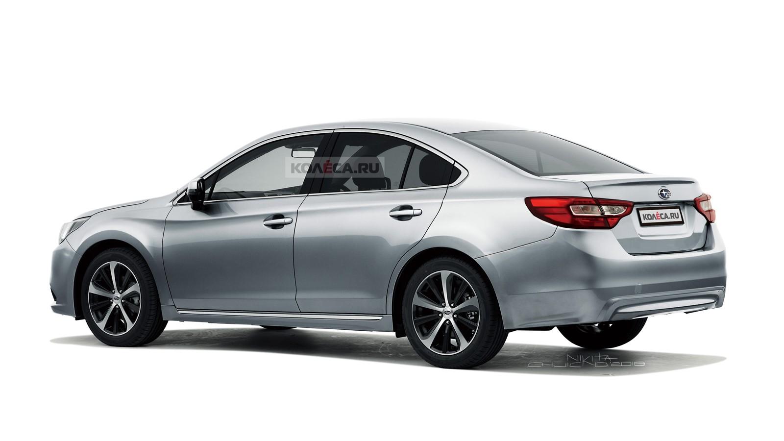 Subaru Legacy rear2