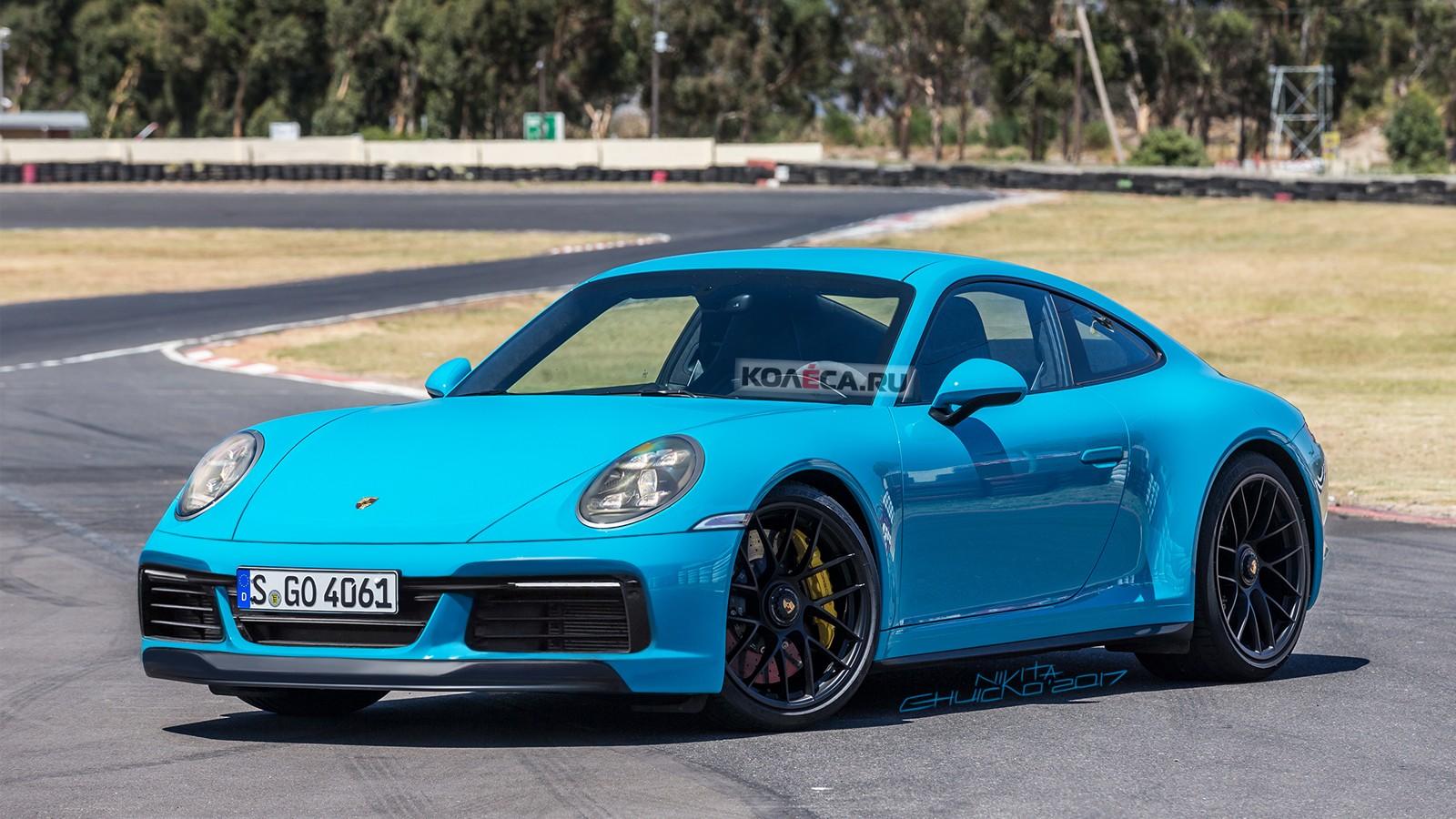 Porsche 992 front1