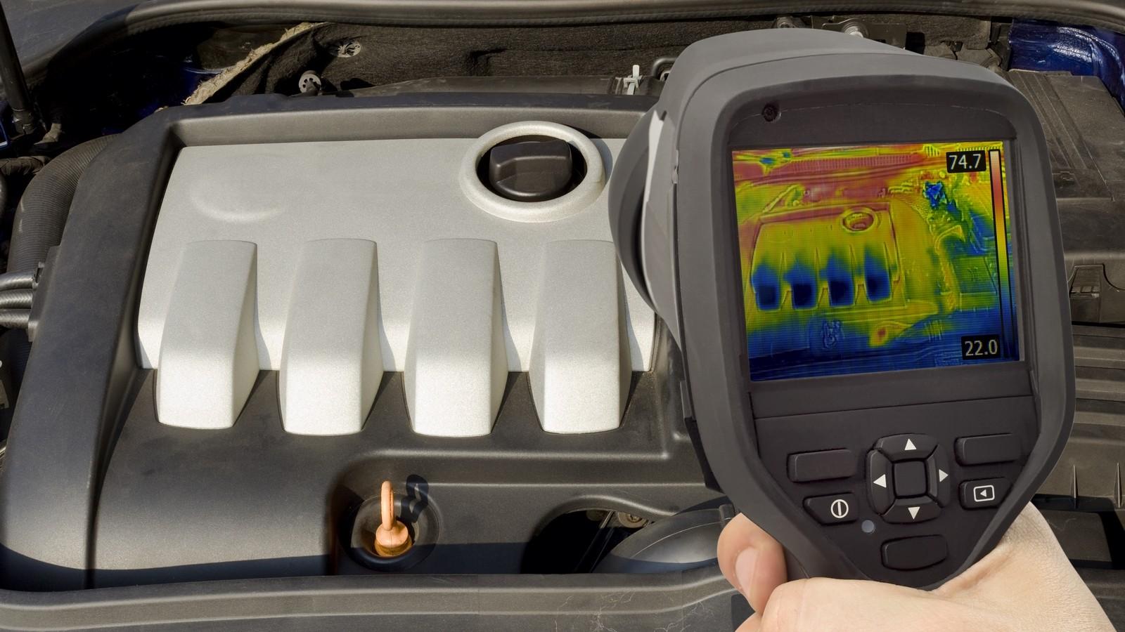 Engine Thermal Image