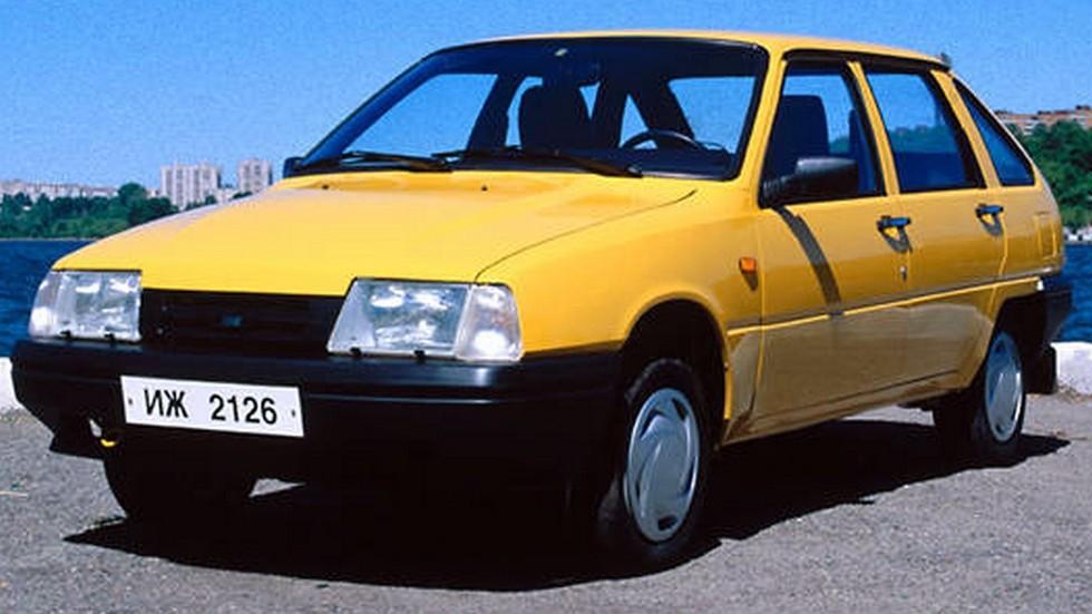На фото: Иж-2126 Ода '1999–2002